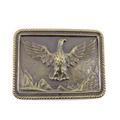 Flying Eagle Large Belt Buckle
