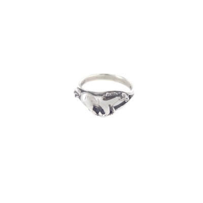 Horse Running Sterling Silver Ring