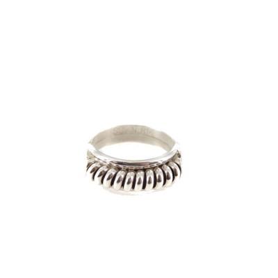 Silver Spiral Sterling Silver Ring