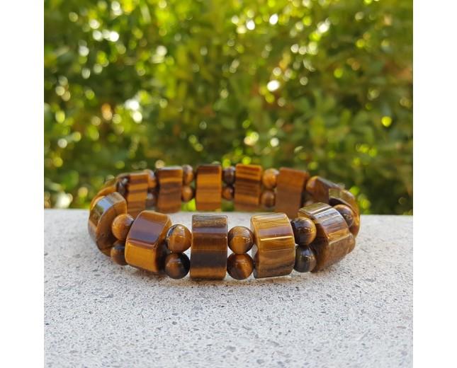 Tiger Eye Stretch Bracelet
