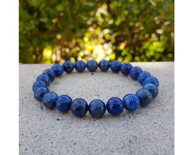 Lapis Lazuli Round Bracelet