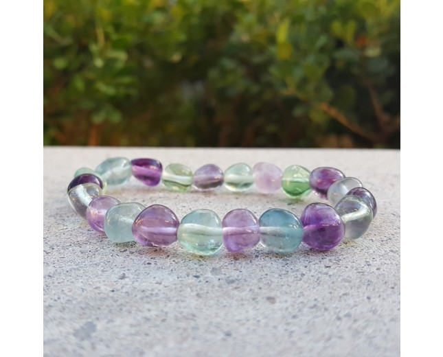 Fluorite Stretch Bracelet