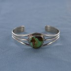 Royston Turquoise Sterling Silver Cuff Bracelet
