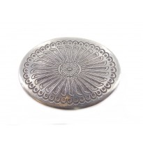Feather Oval Belt Buckle