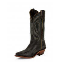 LD2734 Black Superior Calf Nocona Boots