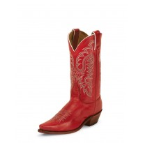 LD2736 Red Soft Ice Nocona Boots