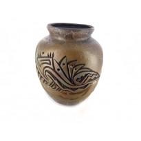Lightening Pot Petroglyph Pottery