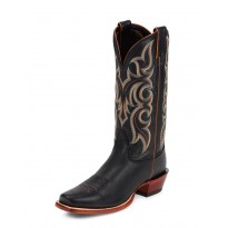 MD2703 Black Calf Skin Nocona Boots
