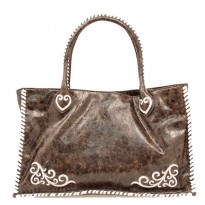 Nocona Women's Western Leather Purse Brown