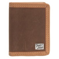 Tony Lama® Brown Distressed Leather Bi-fold Wallet