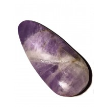 Amethyst Polished Palm Stone
