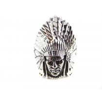 Chief Sterling Silver Ring
