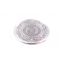 Scroll Concho Oval Belt Buckle