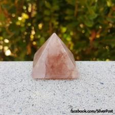 Fire Quartz Pyramid