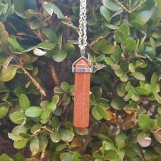 Goldstone Point Pendant