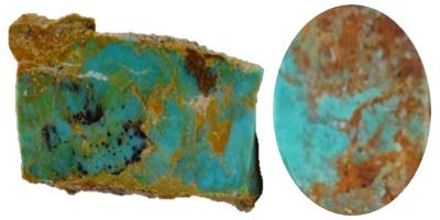King Manassa Turquoise