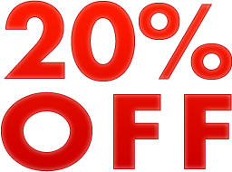 Sterling Silver 20% off